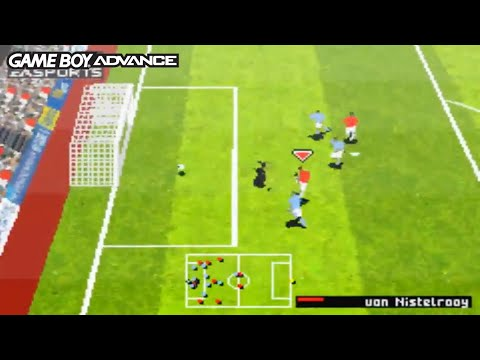 FIFA 06 (Game Boy Advance Gameplay)