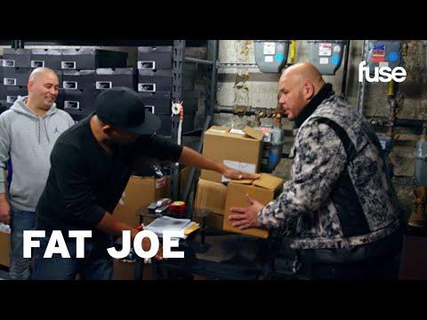 Smoothini Shows Fat Joe The Cardboard Box Trick   Hip-Hop Houdini   Fuse