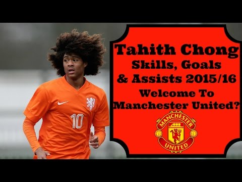 Dutch Wonderkid Tahith Chong Skills, Goals & Assists 2015/16. Welcome To Manchester United?