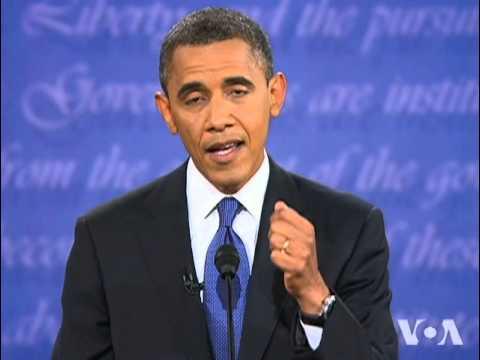 Romney Puts Obama on Defensive in First Debate