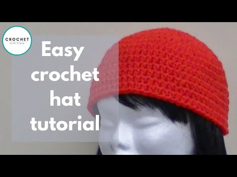 Crochet a Basic Beanie Tutorial - Half Double Crochet - Preemie to Adult size