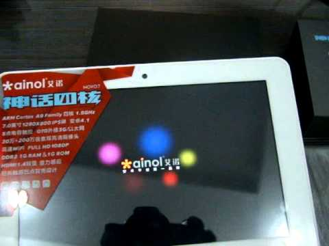 Gadget Greats Ainol novo 7 Venus Tablet Hands On review