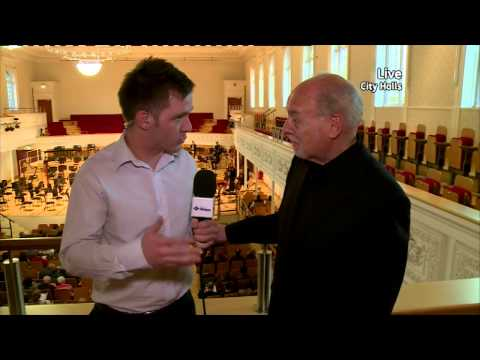Interview with Composer John McLeod at City Halls April 2015