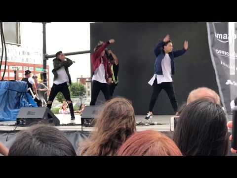 KCON NY 2017 - Jun Curry Ahn Dance Performance - BTS Not Today
