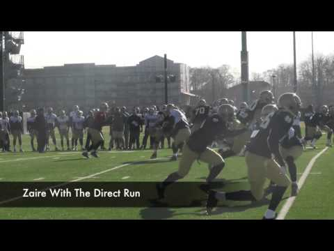 notre - Blue & Gold Illustrated was on the Notre Dame practice fields to watch the Fighting Irish practice Wednesday morning. Included in the highlights are quarterb...