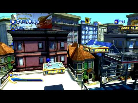 Sonic Generations - Pc Gameplay