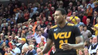 Treveon Graham hits a 3 to beat Virginia