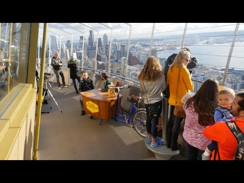 To the Top of the Space Needle!