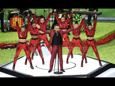 Robbie Williams Performs Live At FIFA World Cup Russia 2018