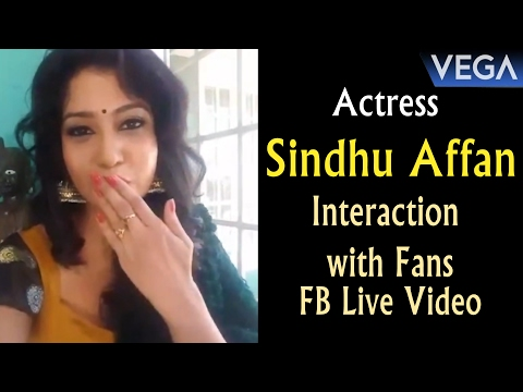 Video Actress Sindhu Affan Interaction with Fans    FB Live Video    Vega Entertainment download in MP3, 3GP, MP4, WEBM, AVI, FLV January 2017