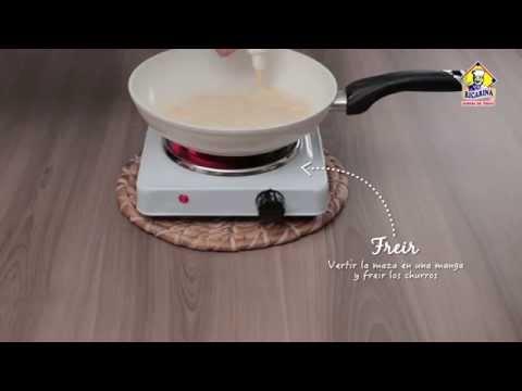 Video - Receta churros españoles