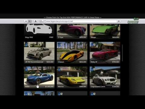 Гта онлайн как сделать машину своей