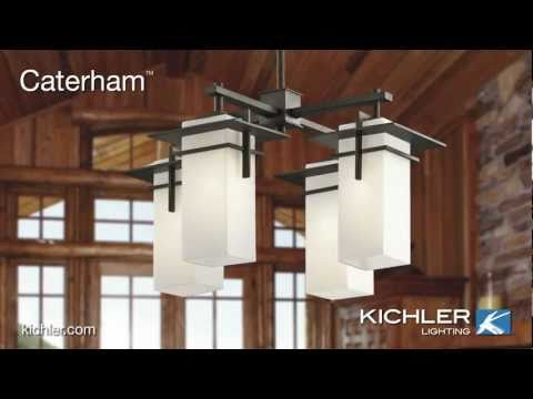 Video for Caterham Olde Bronze Four-Light Indoor/Outdoor Chandelier