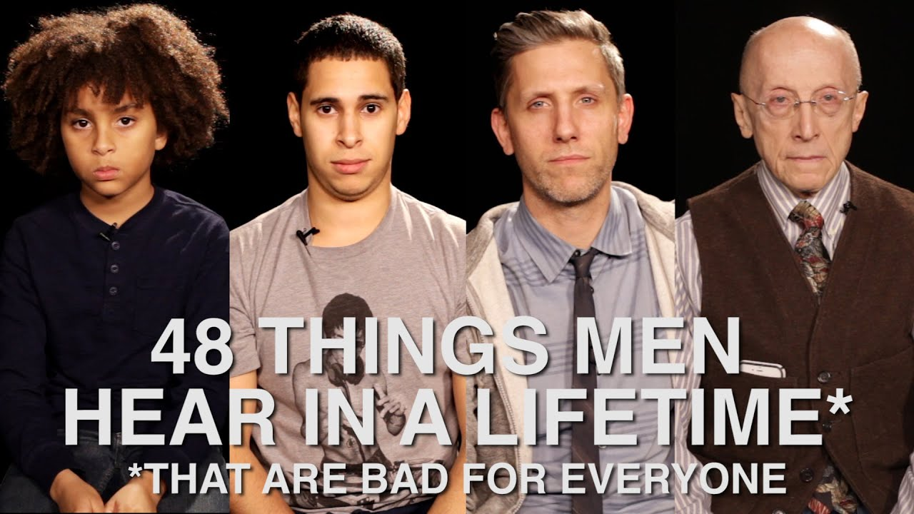48 Things Men Hear In A Lifetime (That Are Bad For Everyone)