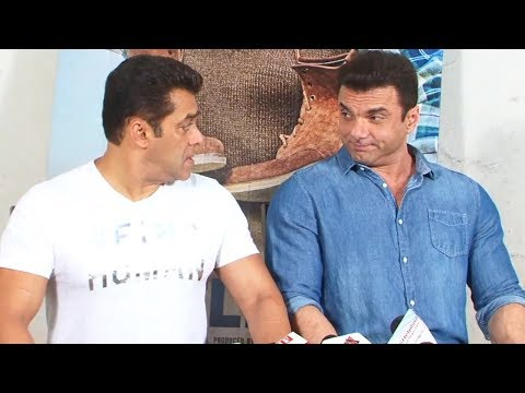Salman Khan-Sohail Khan's FUNNY Interview for Tubelight