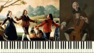 Менуэт - Л. Боккерини (Minuet_Boccherini) (Пример игры на пианино)(piano cover)