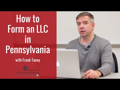 Forming an LLC in PA