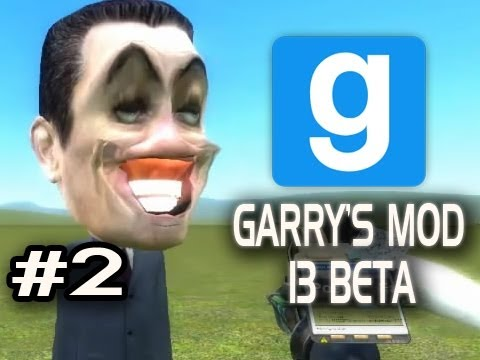 Garry's Mod 13 Beta w/Nova & Sp00n Ep.2 - HEAD BALLOONS Video