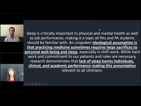 Sleep-Related Topics