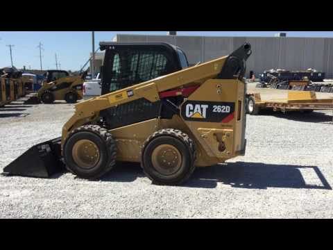 CATERPILLAR MINICARGADORAS 262DSTD2CA equipment video jkEj4sZ7c7U