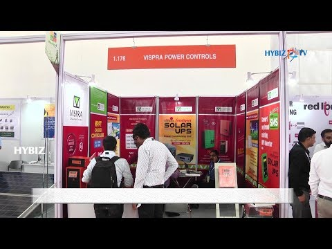, Vispra Power Controls - RenewX 2018 Hyderabad