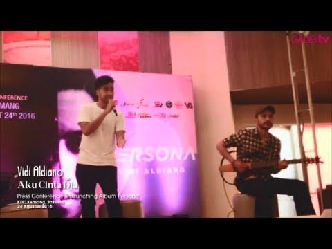 Vidi Aldiano - Aku Cinta Dia (Live at Persona Album Launch)