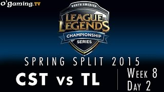 LCS NA Spring 2015 - W8D2 - CST vs TL