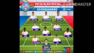 Escalação Bahia - Vitória x Bahia - Campeonato Baiano 2016 1° Jogo - Ida