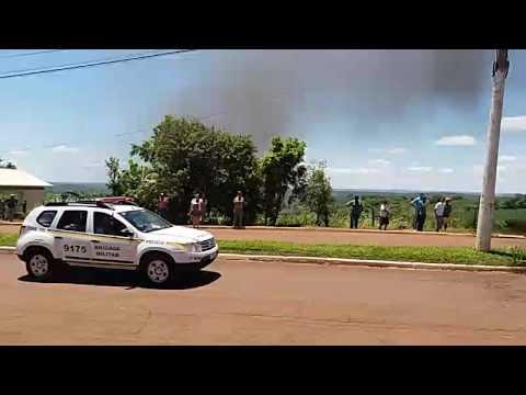 Assalto a agências bancárias do Banrisul e Sicredi em Miraguaí/RS