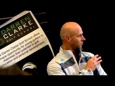 Darren Clarke visits Golf School and Performance Center