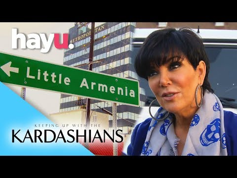 Kris On The Hunt For A Single Armenian | Keeping Up With The Kardashians