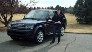 Real Update: 2012 And 2013 Range Rover Sport Comparison Review