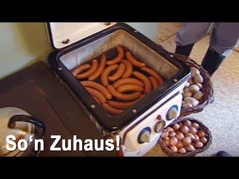 In der DDR heizte man Würstchen mit der Waschmaschi ...