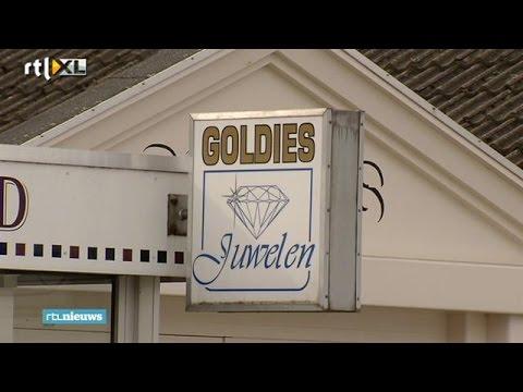 Eerste schot recht door het hart overval op juwelier Goldies