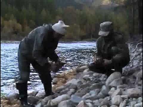 ловля ленка в прибайкалье