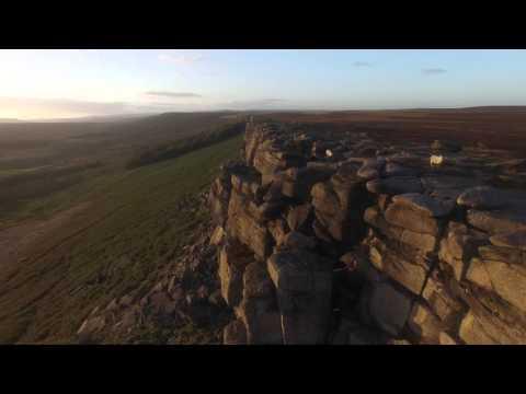 Stanage Edge Unbelievable Epic 4k Drone Footage