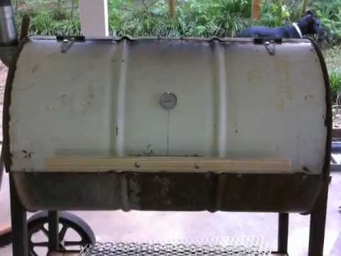 Grill - Grill build from 55 gal drum. Best grill I have ever used! No welding, built burner to go in it but use charcoal mostly.