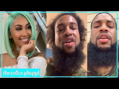 Queen Naija Ex Chris Responds To Sh@dy Comments Made By Her