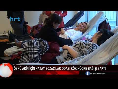Öykü Arin İçin Hatay Eczacılar Odası Kök Hücre Bağışı Yaptı