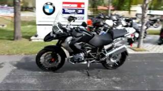 5. 2012 BMW R1200GS Special Edition Triple Black