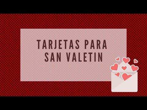 Tarjetas de amor - DIY San valentin/Día del amor y la amistad