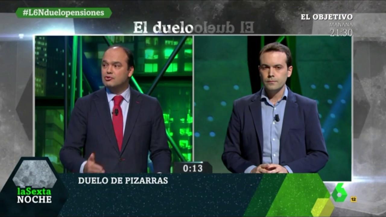 Debate sobre pensiones con José Carlos Díez - 13/1/2018