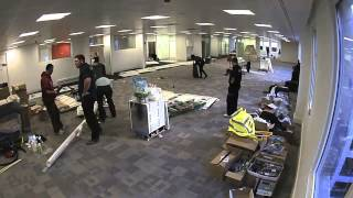 AOS Studley Cutlers Exchange Fit Out Timelapse