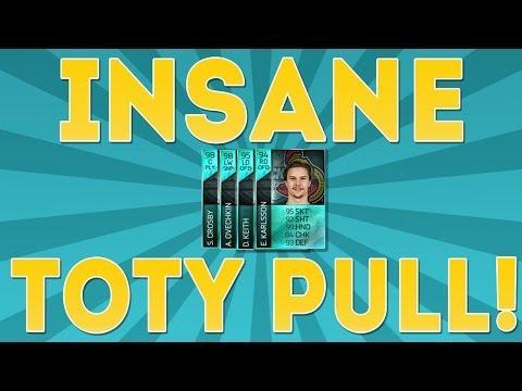 NHL 14 HUT | INSANE TOTY PULL!