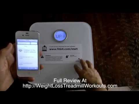 Fitbit Aria WIFI Scale Review, Unboxing & Setup - How I set mine up