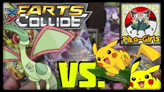 Pokemon Cards! Fates Collide Pack Battle Vs Pika-Girls! by Master Jigglypuff and Friends