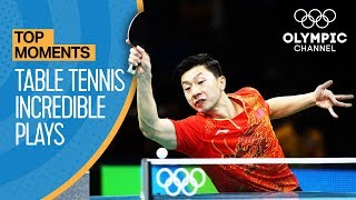 Video Top Crazy Table Tennis Rallies at the Olympics | Top Moments MP3, 3GP, MP4, WEBM, AVI, FLV September 2018