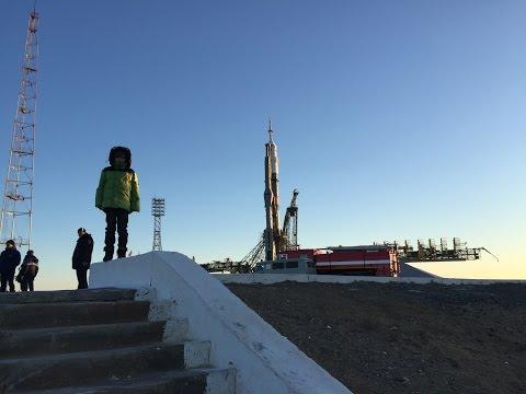 Запустил я с сыном ракету
