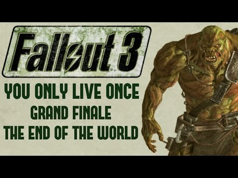 After 8 months, the Fallout 3: You Only Live Once permadeath experiment is complete