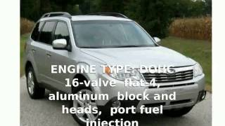 6. 2011 Subaru Forester 2.5X Touring Features & Specs